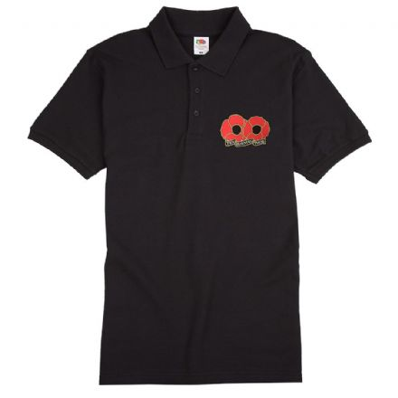 "Poppy Polo Shirt ""Try Burning These"""